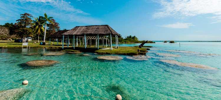 Bacalar y mahahual mundo joven for Hotel luxury en bacalar