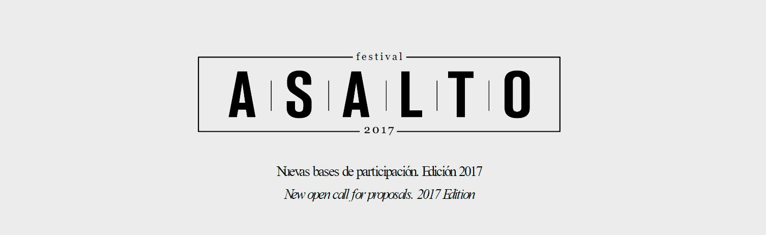 Wallspot Post - OPEN CALL FESTVAL ASALTO 2017
