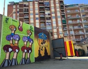 Wallspot - setabcn - Barcelona - UE Sant Andreu - Graffity - Legal Walls -