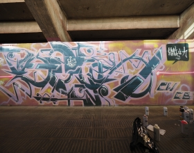 Wallspot - SAYS - UE Sant Andreu - SAYS - Barcelona - UE Sant Andreu - Graffity - Legal Walls - Letters