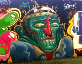 Wallspot - Simon - Agricultura - Simon - Barcelona - Agricultura - Graffity - Legal Walls -