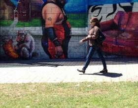 Wallspot -Rockaxson - I SEE YOU BABE - Barberà del Vallès - Carretera Barcelona - Graffity - Legal Walls - Illustration - Artist - S.Waknine