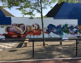 Wallspot - Vinz 100 - Croos - Vinz 100 - Rotterdam - Croos - Graffity - Legal Walls -
