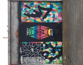 Wallspot - Tboy -  - Barcelona - Selva de Mar - Graffity - Legal Walls -
