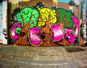 Wallspot - ONA - Barcelona - Selva de Mar - Graffity - Legal Walls -