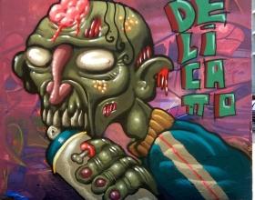 Wallspot - Simon - Zombie delicatto - Barcelona - Tres Xemeneies - Graffity - Legal Walls - Illustration