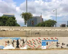 Wallspot - chlér - Forum beach - chlér - Barcelona - Forum beach - Graffity - Legal Walls - Illustration