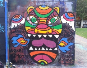 Wallspot - pezkhamino - Barcelona - Drassanes - Graffity - Legal Walls -