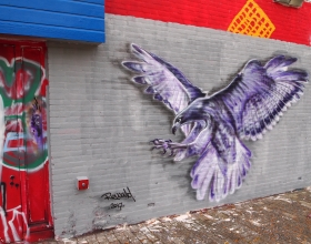 Wallspot - Rowald - Croos - Rowald - Rotterdam - Croos - Graffity - Legal Walls - Illustration, Others