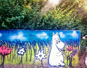 Wallspot -Trixiex - Trixiex - Project 18/08/2017 - Aberdeen - Sunnybank Park / Throwupgallery - Graffity - Legal Walls - Illustration, Others