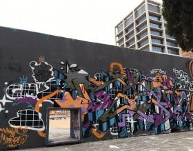 Wallspot - Datoism - Barcelona - Tres Xemeneies - Graffity - Legal Walls -