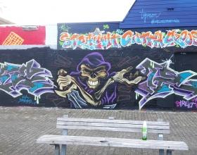 Wallspot - KEL - Rotterdam - Croos - Graffity - Legal Walls -