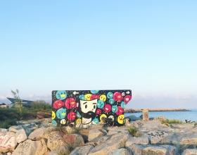 Wallspot - pabs - Barcelona - Forum beach - Graffity - Legal Walls -