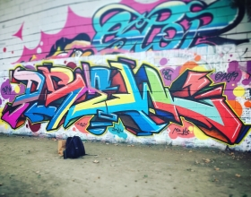Wallspot - PureSew - Barcelona - Drassanes - Graffity - Legal Walls -