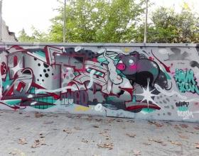 Wallspot - Oner - Oner - Barcelona - Agricultura - Graffity - Legal Walls - Letters, Illustration