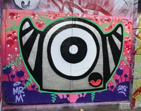 Wallspot - Mr.M - Barcelona - Drassanes - Graffity - Legal Walls -