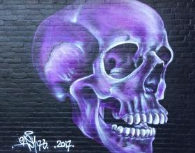 Wallspot - Rowald - Croos - Rowald - Rotterdam - Croos - Graffity - Legal Walls - Illustration