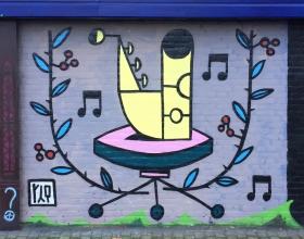 Wallspot - Riq Etiq - THE REWARD WALL - Rotterdam - Croos - Graffity - Legal Walls - Illustration, Others