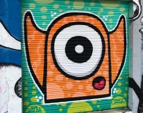 Wallspot - Mr.M -  - Barcelona - Western Town - Graffity - Legal Walls -