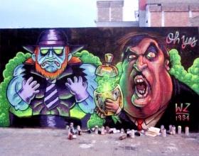 Wallspot - Dako - Barcelona - Poble Nou - Graffity - Legal Walls -