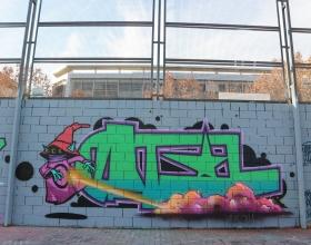 Wallspot -senyorerre3 - Art Datil - Barcelona - Drassanes - Graffity - Legal Walls - Letters, Illustration