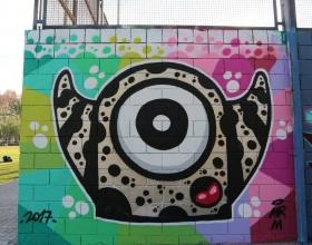 Wallspot -senyorerre3 - Art Mr.M - Barcelona - Drassanes - Graffity - Legal Walls - Illustration - Artist - Mr.M
