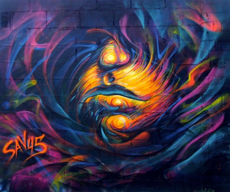 Wallspot - savf -  - Barcelona - Glòries Wall - Graffity - Legal Walls -