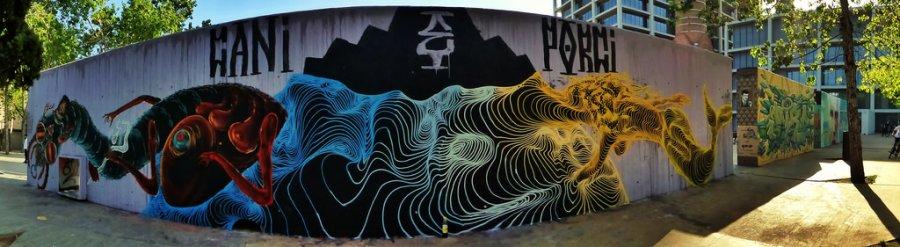 Wallspot - El Rughi -  - Barcelona - Agricultura - Graffity - Legal Walls -