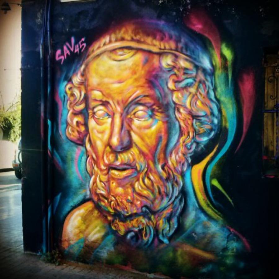Wallspot - savf -  - Barcelona - Western Town - Graffity - Legal Walls - Illustration