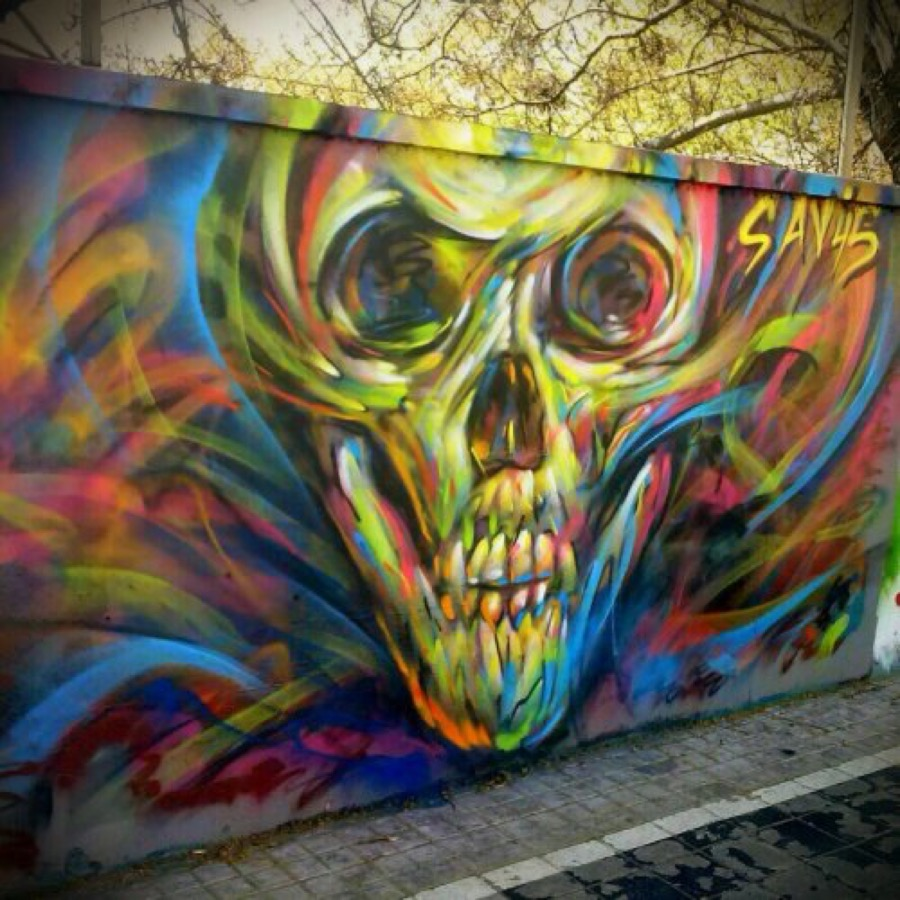 Wallspot - savf -  - Barcelona - Agricultura - Graffity - Legal Walls -