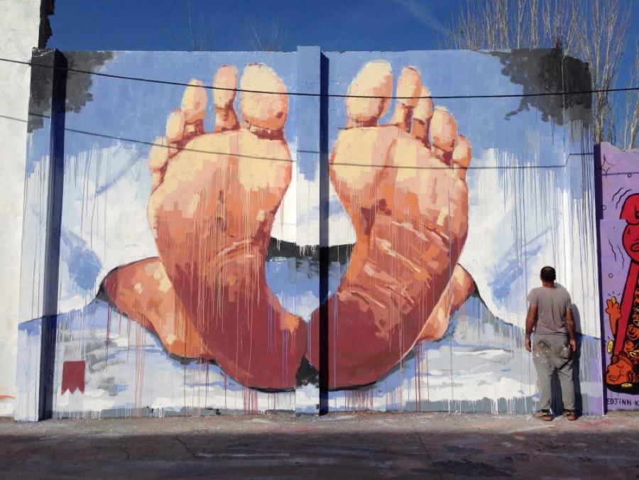 Wallspot - elmanu -  - Barcelona - Agricultura - Graffity - Legal Walls - Illustration