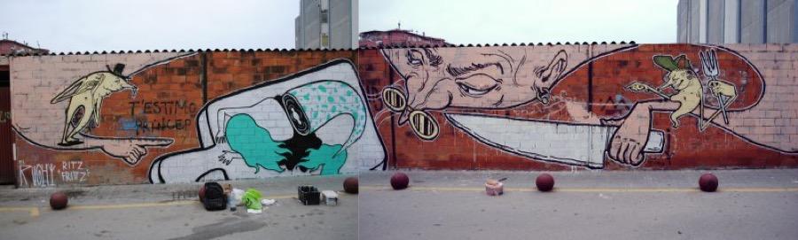 Wallspot - El Rughi -  - Barberà del Vallès - Maria Reverter / Nemesi Valls - Graffity - Legal Walls - Illustration