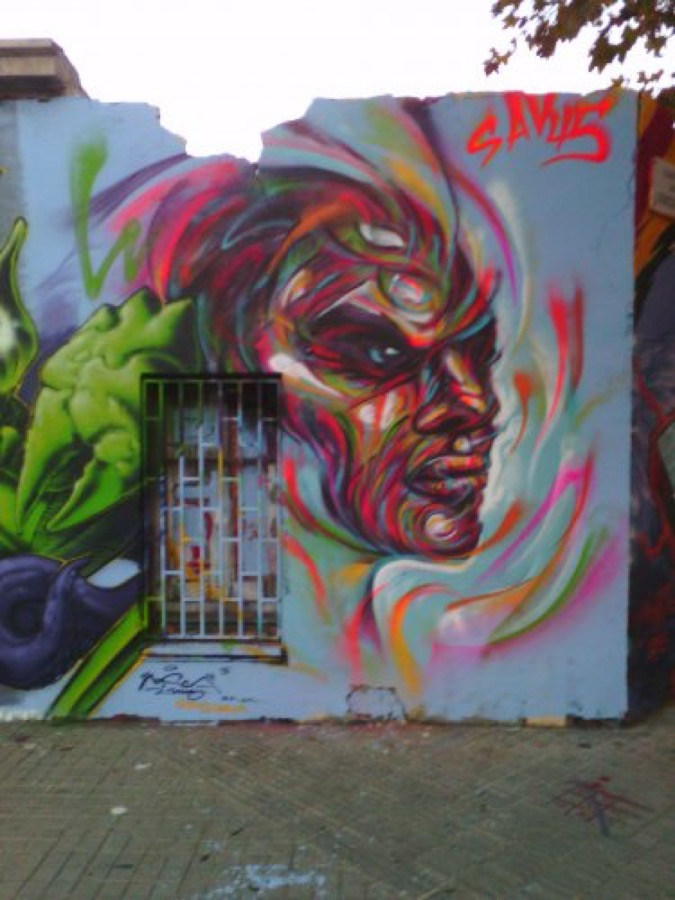 Wallspot - savf -  - Barcelona - Agricultura - Graffity - Legal Walls - Illustration, Others