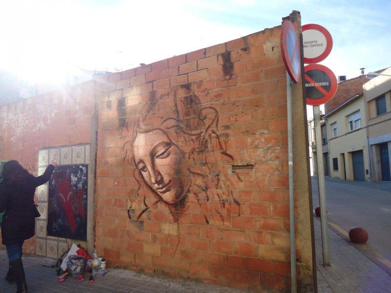 Wallspot - savf -  - Barberà del Vallès - Maria Reverter / Nemesi Valls - Graffity - Legal Walls - Illustration, Others