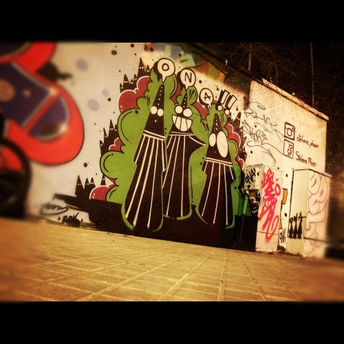 Wallspot - ONA -  - Barcelona - Agricultura - Graffity - Legal Walls - Illustration, Others