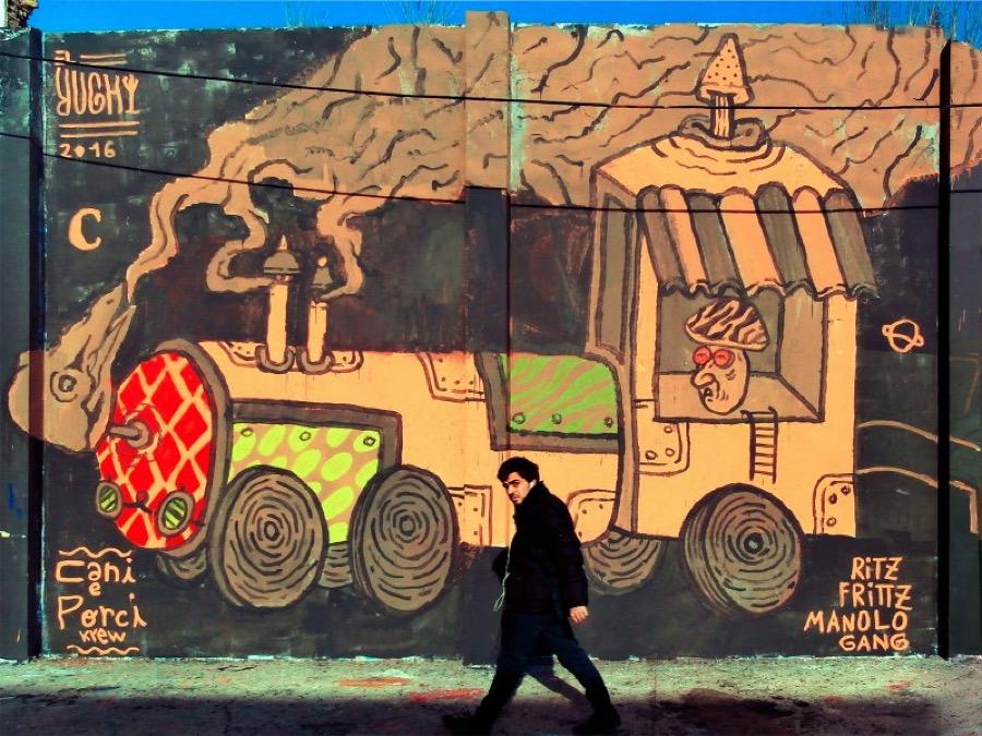 Wallspot - El Rughi -  - Barcelona - Agricultura - Graffity - Legal Walls - Illustration