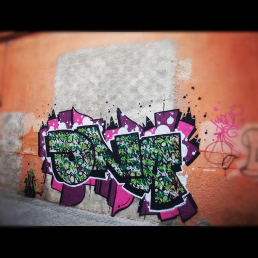 Wallspot - ONA -  - Barberà del Vallès - Carretera Barcelona - Graffity - Legal Walls - Letters, Illustration, Others