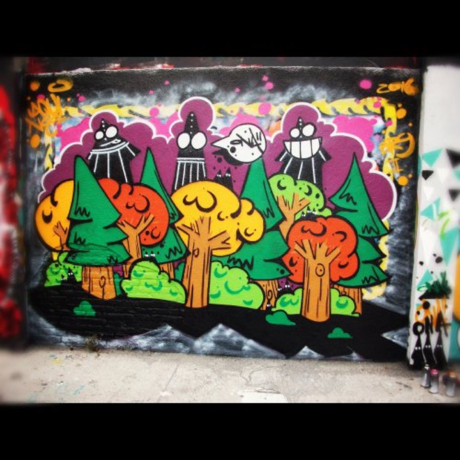 Wallspot - ONA -  - Barcelona - Agricultura - Graffity - Legal Walls - Letters, Illustration, Others