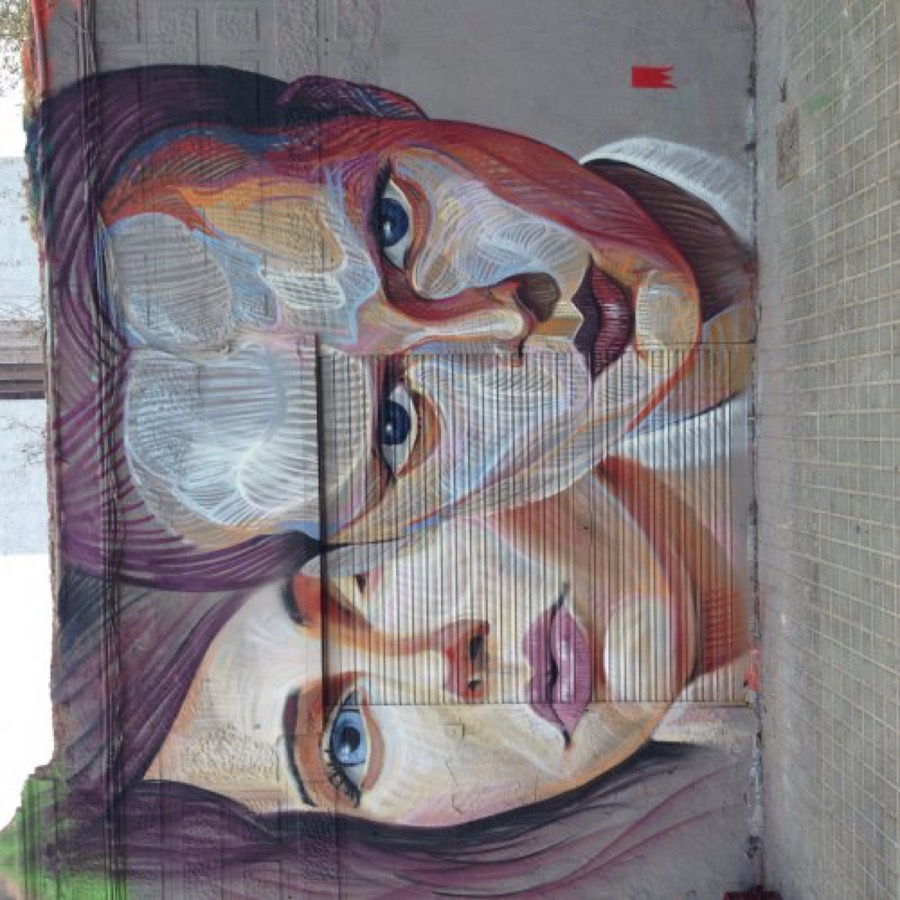 Wallspot - elmanu -  - Barcelona - Western Town - Graffity - Legal Walls - Illustration