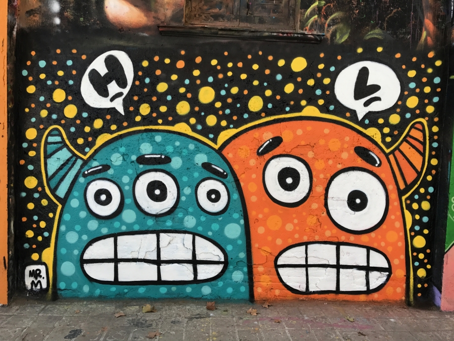 Wallspot - Mr.M - Selva de Mar - Mr.M - Barcelona - Selva de Mar - Graffity - Legal Walls - Illustration