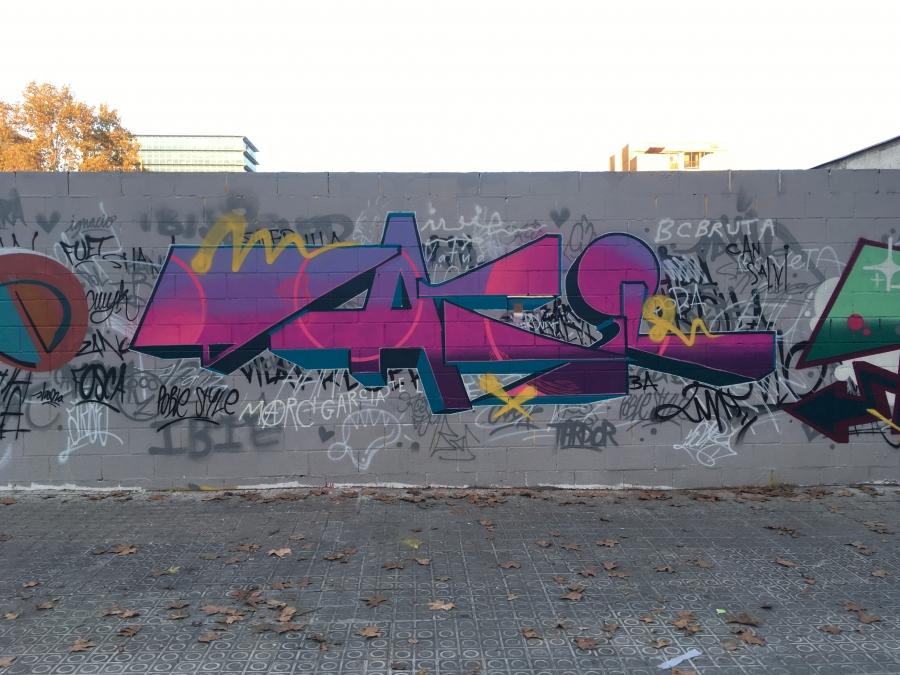 Wallspot - 2000nce -  - Barcelona - Poble Nou - Graffity - Legal Walls -