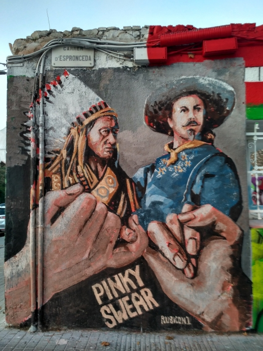Wallspot - evalop - Rubicon - Barcelona - Western Town - Graffity - Legal Walls - Illustration - Artist - Rubicon1