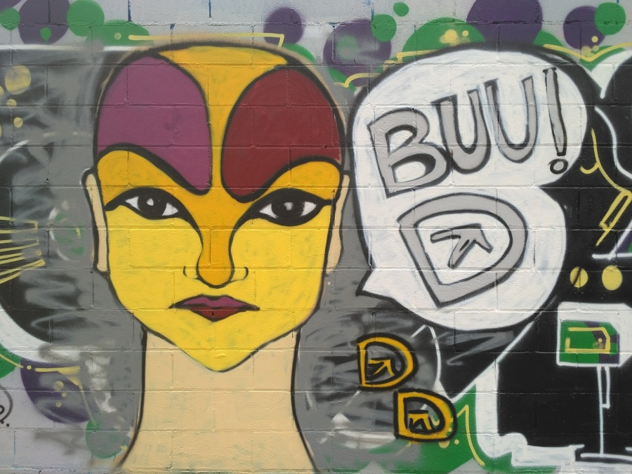 Wallspot - evalop - Dala - Barcelona - Poble Nou - Graffity - Legal Walls - Illustration - Artist - DALA @daliladuartedrd