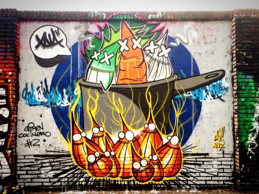 Wallspot - ONA -  - Barcelona - Selva de Mar - Graffity - Legal Walls -