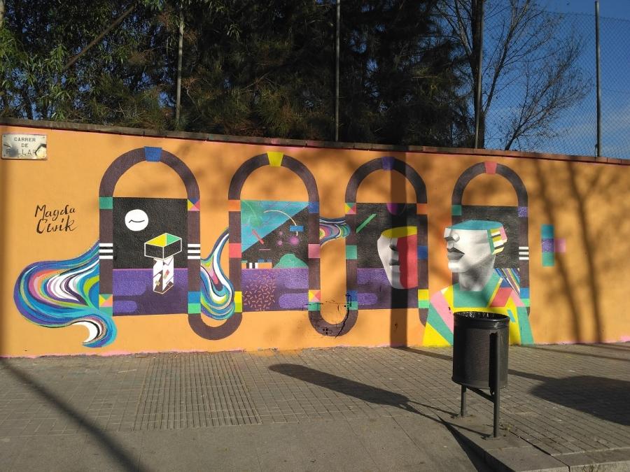 Wallspot - evalop - evalop - Proyecto 20/03/2017 - Barcelona - Agricultura - Graffity - Legal Walls - Illustration - Artist - Magda Ćwik