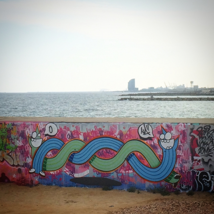 Wallspot - ONA -  - Barcelona - Forum beach - Graffity - Legal Walls -