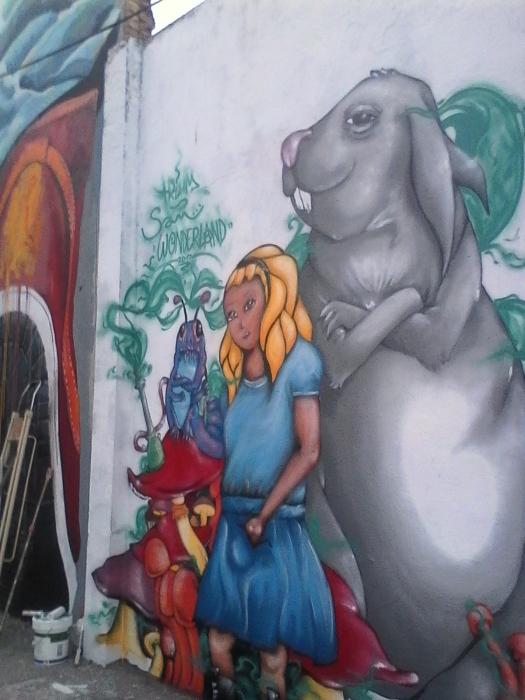 Wallspot - trium -  - Barcelona - Agricultura - Graffity - Legal Walls -