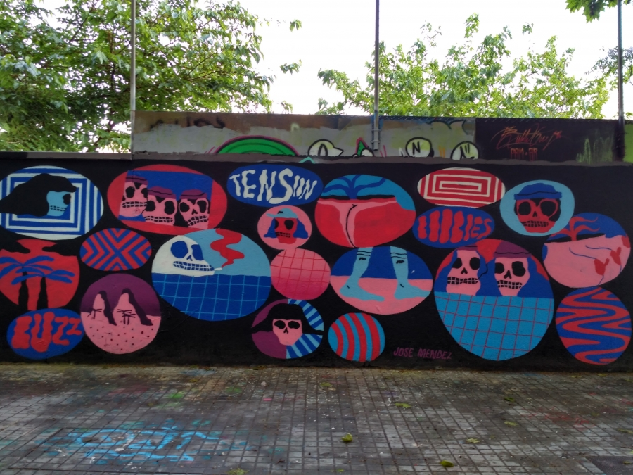 Wallspot - evalop - Jose Mendez - Barcelona - Agricultura - Graffity - Legal Walls - Illustration