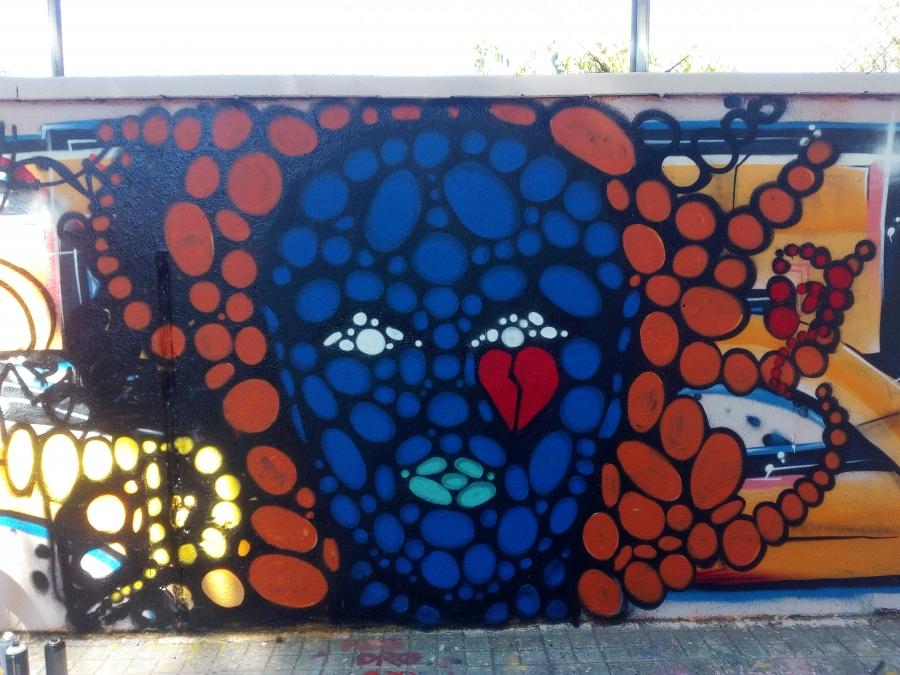 Wallspot - DALA @daliladuartedrd -  - Barcelona - Agricultura - Graffity - Legal Walls -