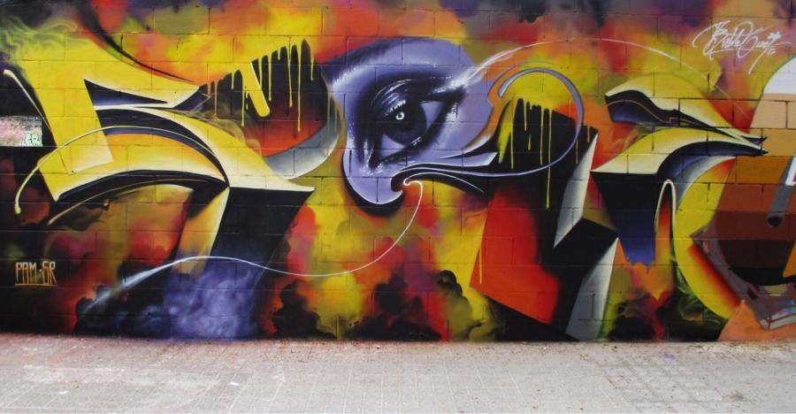 Wallspot - Bublegum -  - Barcelona - Poble Nou - Graffity - Legal Walls -